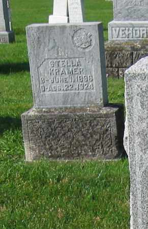 KRAMER, STELLA - Mercer County, Ohio | STELLA KRAMER - Ohio Gravestone Photos