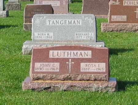 LUTHMAN, ROSA E - Mercer County, Ohio | ROSA E LUTHMAN - Ohio Gravestone Photos