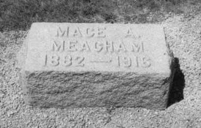 ALSPAUGH MEACHAM, MACE A. - Mercer County, Ohio | MACE A. ALSPAUGH MEACHAM - Ohio Gravestone Photos