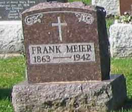 MEIER, FRANK - Mercer County, Ohio | FRANK MEIER - Ohio Gravestone Photos