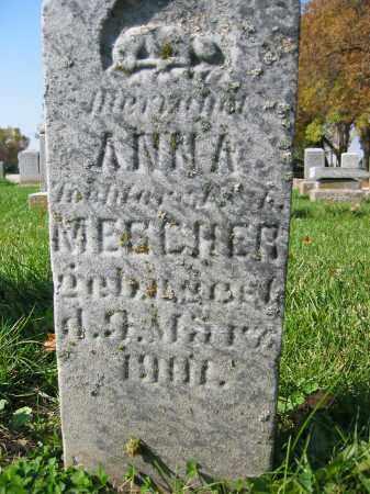 MESCHER, ANNA - Mercer County, Ohio | ANNA MESCHER - Ohio Gravestone Photos