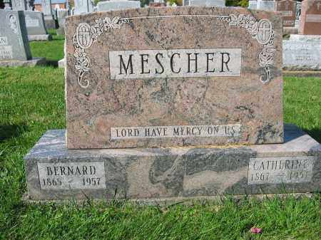 MESCHER, BERNARD - Mercer County, Ohio | BERNARD MESCHER - Ohio Gravestone Photos