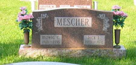 MESCHER, DICK L - Mercer County, Ohio | DICK L MESCHER - Ohio Gravestone Photos