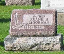 MOORMAN, FRANK H. - Mercer County, Ohio | FRANK H. MOORMAN - Ohio Gravestone Photos