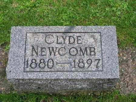 NEWCOMB, CLYDE - Mercer County, Ohio | CLYDE NEWCOMB - Ohio Gravestone Photos