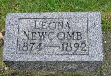 NEWCOMB, LEONA - Mercer County, Ohio | LEONA NEWCOMB - Ohio Gravestone Photos