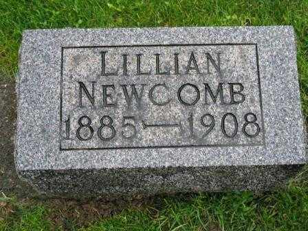 NEWCOMB, LILLIAN - Mercer County, Ohio | LILLIAN NEWCOMB - Ohio Gravestone Photos