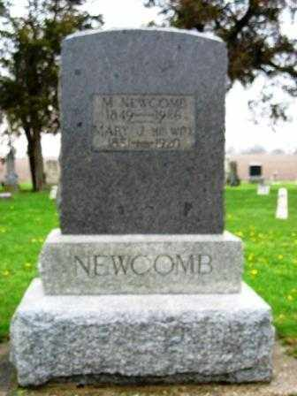 NEWCOMB, MILETUS - Mercer County, Ohio | MILETUS NEWCOMB - Ohio Gravestone Photos