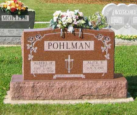 POHLMAN, ALBERT H. - Mercer County, Ohio | ALBERT H. POHLMAN - Ohio Gravestone Photos