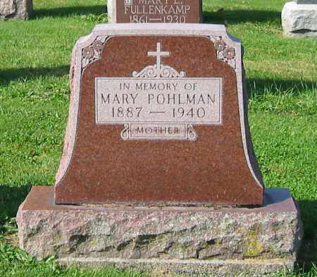 POHLMAN, MARY - Mercer County, Ohio | MARY POHLMAN - Ohio Gravestone Photos