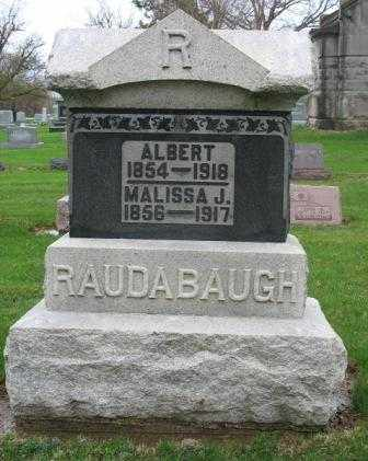 RAUDABAUGH, MALISSA J. - Mercer County, Ohio | MALISSA J. RAUDABAUGH - Ohio Gravestone Photos