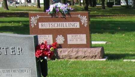 RUTSCHILLING, VERNON J. - Mercer County, Ohio | VERNON J. RUTSCHILLING - Ohio Gravestone Photos