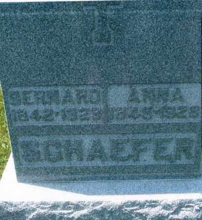 SCHAEFER, BERNARD - Mercer County, Ohio | BERNARD SCHAEFER - Ohio Gravestone Photos