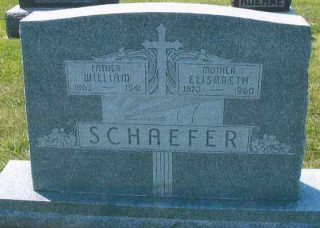 SCHAEFER, WILLIAM - Mercer County, Ohio | WILLIAM SCHAEFER - Ohio Gravestone Photos