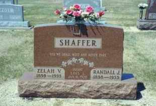 SHAFFER, LOIS L. - Mercer County, Ohio | LOIS L. SHAFFER - Ohio Gravestone Photos