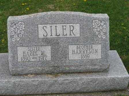 SILER, HARRYSON - Mercer County, Ohio | HARRYSON SILER - Ohio Gravestone Photos