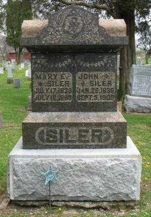SILER, JOHN - Mercer County, Ohio | JOHN SILER - Ohio Gravestone Photos