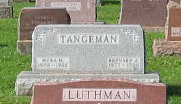 TANGEMAN, BERNARD J - Mercer County, Ohio | BERNARD J TANGEMAN - Ohio Gravestone Photos