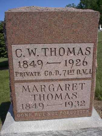 THOMAS, MARGARET - Mercer County, Ohio | MARGARET THOMAS - Ohio Gravestone Photos