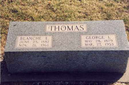 THOMAS, BLANCHE E. - Mercer County, Ohio | BLANCHE E. THOMAS - Ohio Gravestone Photos