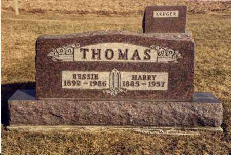 KILGER THOMAS, BESSIE - Mercer County, Ohio | BESSIE KILGER THOMAS - Ohio Gravestone Photos