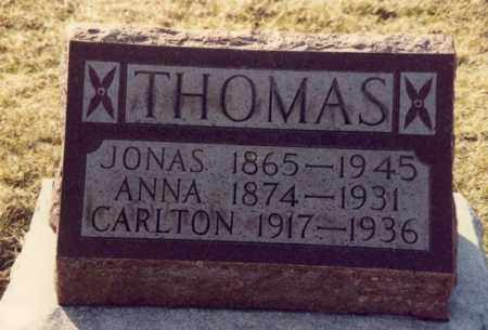 THOMAS, CARLTON - Mercer County, Ohio | CARLTON THOMAS - Ohio Gravestone Photos