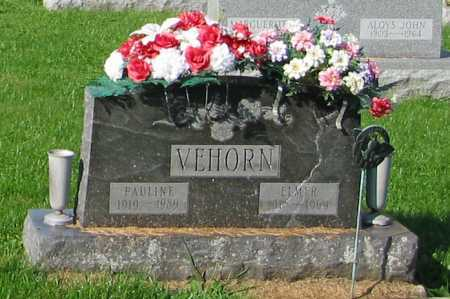 VEHORN, ELMER - Mercer County, Ohio | ELMER VEHORN - Ohio Gravestone Photos