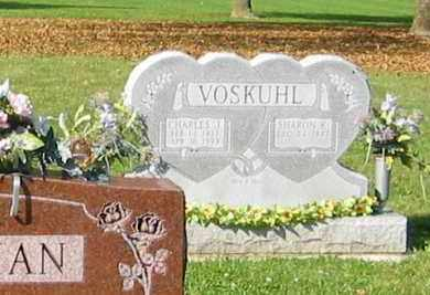 VOSKUHL, CHARLES J. - Mercer County, Ohio | CHARLES J. VOSKUHL - Ohio Gravestone Photos