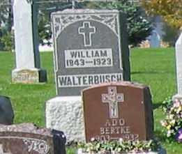 WALTERBUSCH, WALTER - Mercer County, Ohio | WALTER WALTERBUSCH - Ohio Gravestone Photos