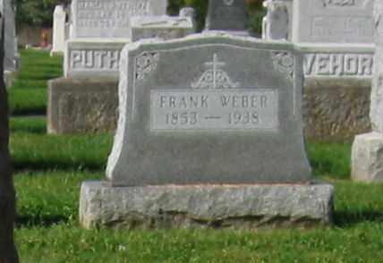 WEBER, FRANK - Mercer County, Ohio | FRANK WEBER - Ohio Gravestone Photos
