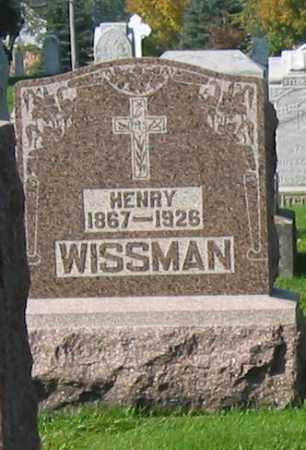 WISSMAN, HENRY - Mercer County, Ohio | HENRY WISSMAN - Ohio Gravestone Photos