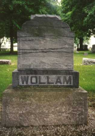 WOLLAM, ALFRED - Mercer County, Ohio | ALFRED WOLLAM - Ohio Gravestone Photos