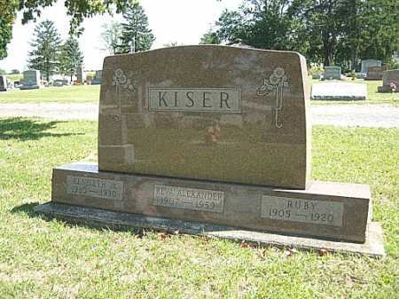KISER, KENNETH R - Miami County, Ohio | KENNETH R KISER - Ohio Gravestone Photos