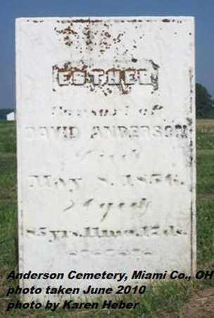 HOLLINGSHEAD ANDERSON, ESTHER - Miami County, Ohio | ESTHER HOLLINGSHEAD ANDERSON - Ohio Gravestone Photos