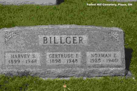 BILLGER, GERTRUDE FLORENCE - Miami County, Ohio | GERTRUDE FLORENCE BILLGER - Ohio Gravestone Photos