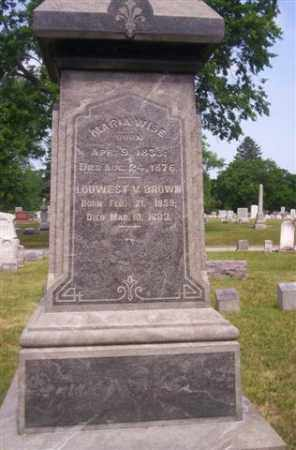 WISE, MARIA - Miami County, Ohio | MARIA WISE - Ohio Gravestone Photos