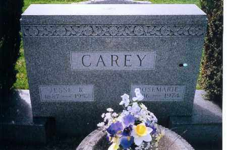 CAREY, JESSE R. - Miami County, Ohio | JESSE R. CAREY - Ohio Gravestone Photos