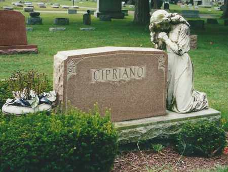 CIPRIANO, HEADSTONE - Miami County, Ohio | HEADSTONE CIPRIANO - Ohio Gravestone Photos