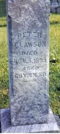 CLAWSON, PETER - Miami County, Ohio   PETER CLAWSON - Ohio Gravestone Photos