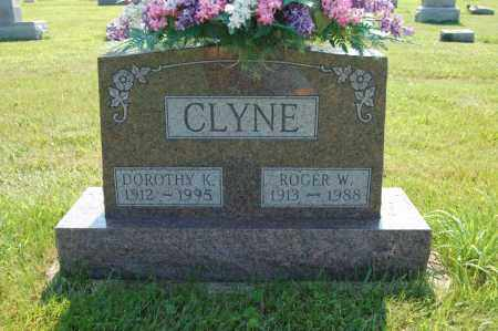 KINGHAM CLYNE, DOROTHY - Miami County, Ohio | DOROTHY KINGHAM CLYNE - Ohio Gravestone Photos