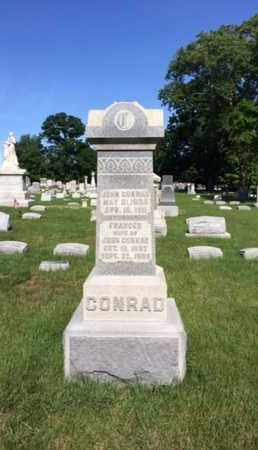 CONRAD, FRANCES - Miami County, Ohio | FRANCES CONRAD - Ohio Gravestone Photos