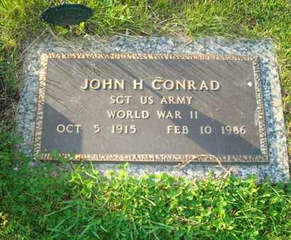 CONRAD, JOHN H - Miami County, Ohio | JOHN H CONRAD - Ohio Gravestone Photos