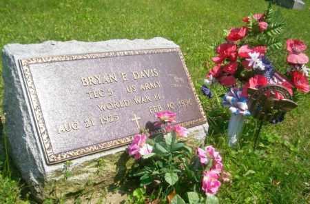 DAVIS, BRYAN ELWOOD - Miami County, Ohio | BRYAN ELWOOD DAVIS - Ohio Gravestone Photos