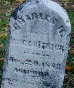 DETRICK, CHARLES - Miami County, Ohio | CHARLES DETRICK - Ohio Gravestone Photos