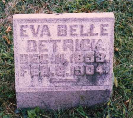 DETRICK, EVA BELLE - Miami County, Ohio | EVA BELLE DETRICK - Ohio Gravestone Photos