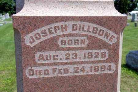 DILLBONE, JOSEPH - Miami County, Ohio | JOSEPH DILLBONE - Ohio Gravestone Photos