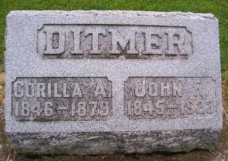 DITMER, CORILLA A - Miami County, Ohio | CORILLA A DITMER - Ohio Gravestone Photos