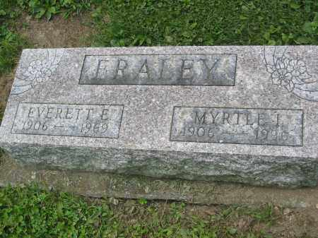 FRALEY, MYRTLE - Miami County, Ohio | MYRTLE FRALEY - Ohio Gravestone Photos