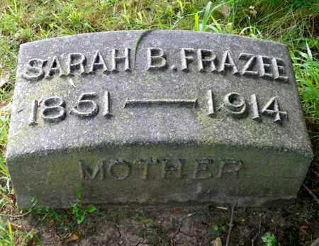 FRAZEE, SARAH B. - Miami County, Ohio | SARAH B. FRAZEE - Ohio Gravestone Photos