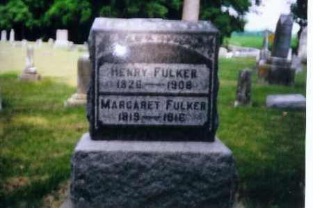 FULKER, MARGARET - Miami County, Ohio | MARGARET FULKER - Ohio Gravestone Photos